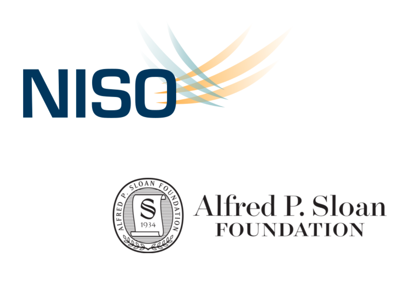 NISO and Alfred P. Sloan Foundation logos